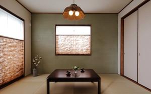 90平米日式风格简约三室两厅室内装修效果图赏析