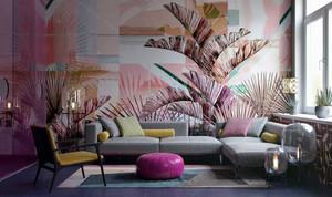 72平米现代风格时尚靓丽公寓装修效果图赏析