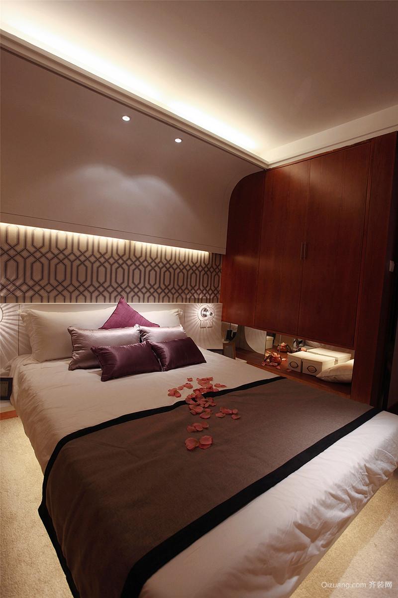 89平米现代简约风格两室两厅室内装修效果图案例