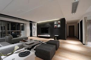 100平米新中式风格精致典雅室内装修效果图案例