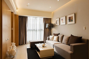 75平米宜家风格两室两厅室内装修效果图赏析