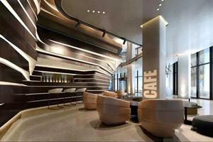 后现代风格咖啡厅设计装修效果图赏析