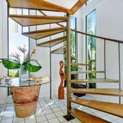 东南亚风格简约楼梯设计装修效果图赏析