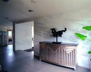 228平米后现代风格冷色调别墅室内装修效果图赏析