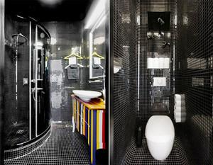 100平米混搭风格个性时尚室内装修效果图案例
