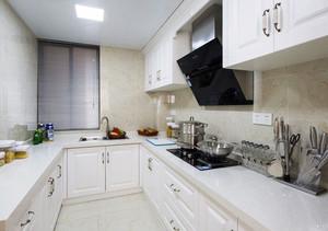 现代简约风格白色厨房装修效果图欣赏
