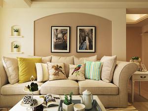 90平米简欧风格温馨实用室内装修效果图赏析
