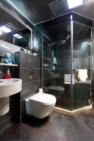 166平米现代简约风格精致复式楼室内装修效果图