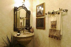 239平米美式风格精致别墅室内装修效果图赏析