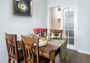 美式风格两居室精致餐厅设计装修效果图欣赏