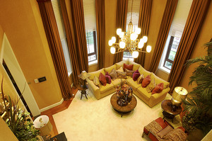 400平米古典欧式风格低调奢华别墅室内装修效果图案例