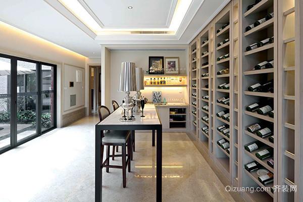384平米欧式风格豪华气派别墅室内装修效果图案例