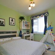 清新风格大户型儿童房设计装修效果图欣赏