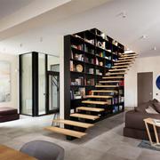 现代简约风格创意室内楼梯设计装修效果图赏析