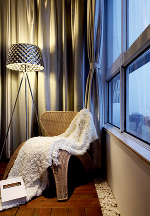 120平米现代简约风格精装室内装修效果图赏析