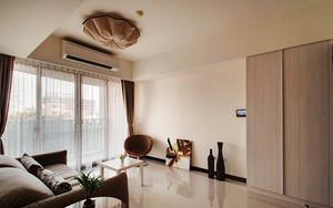 80平米现代风格原木色室内装修效果图案例