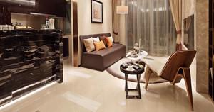 84平米新中式风格公寓装修效果图案例
