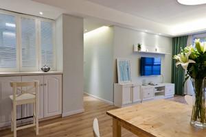 85平米宜家风格温馨浅色两室两厅室内装修效果图