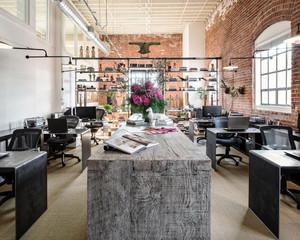 100平米后现代风格办公室装修效果图案例