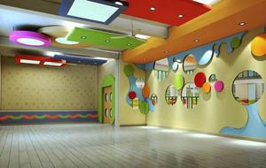 现代简约风格幼儿园教室吊顶设计装修效果图赏析