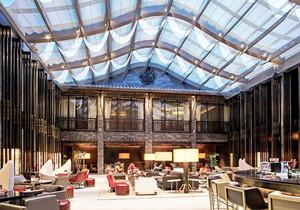 简欧风格精致奢华咖啡厅设计装修效果图