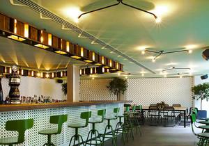 60平米乡村风格酒吧吧台设计装修效果图赏析