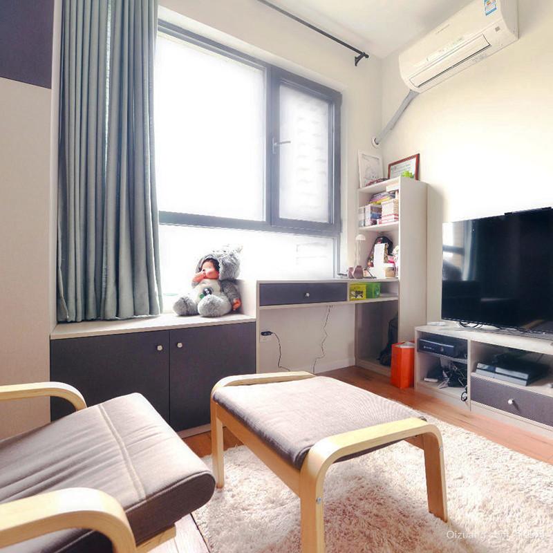 80平米简约风格文艺清新室内装修效果图赏析