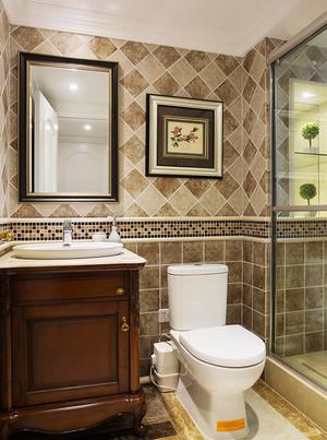 170平米美式风格精致复式楼室内装修效果图案例