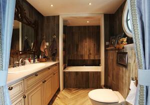 欧式风格大户型精致卫生间瓷砖装修效果图