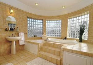 欧式风格别墅室内精美卫生间设计装修效果图赏析