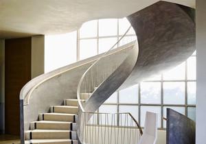 现代风格精致旋转楼梯设计装修效果图赏析