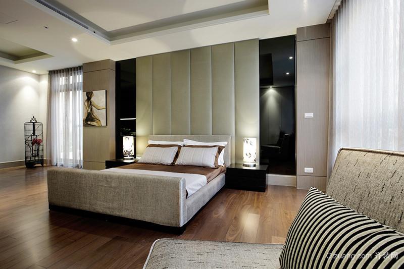 158平米新中式风格复式楼室内装修效果图案例