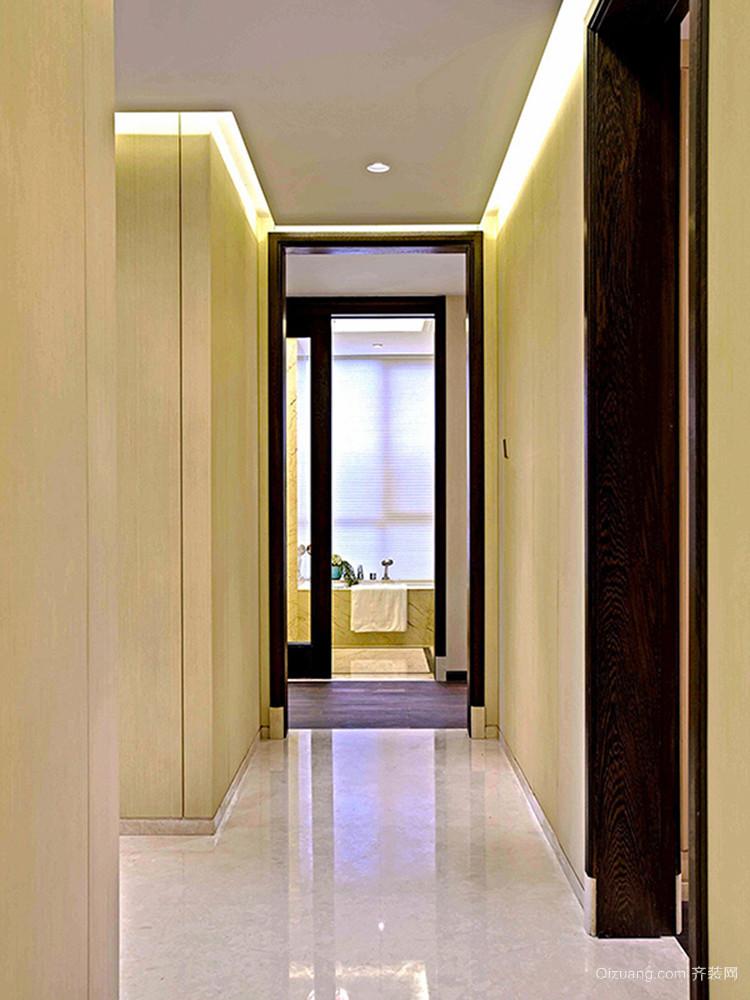 155平米中式风格精致大户型室内装修效果图赏析