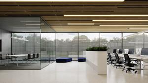 80平米现代简约风格办公室装修效果图