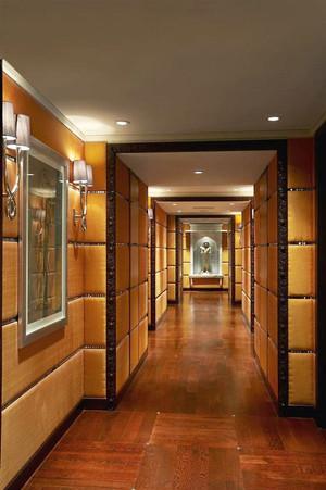 东南亚风格酒店过道设计装修效果图
