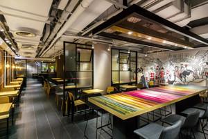 120平米混搭风格餐厅设计装修效果图赏析
