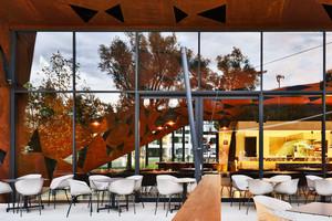 后现代风格创意时尚室外咖啡厅设计装修效果图