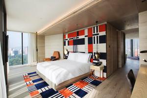 现代风格精致酒店客房设计装修效果图赏析