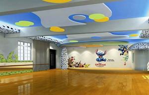 86平米现代简约风格幼儿园教室布置效果图
