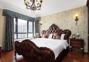 复古美式风格精致大户型卧室装修效果图赏析