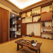 日式风格简约禅意书房设计装修效果图赏析