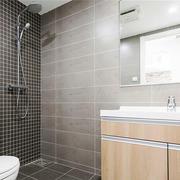 6平米现代简约风格小户型卫生间装修效果图