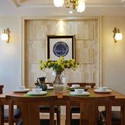 中式风格古典雅致餐厅设计装修效果图赏析