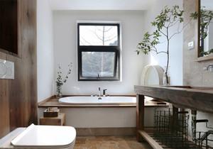 中式风格大户型精致卫生间装修效果图赏析