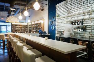 后现代风格酒吧吧台设计装修效果图