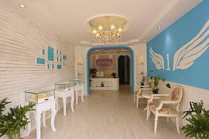 欧式风格时尚美容院前台设计装修效果图赏析