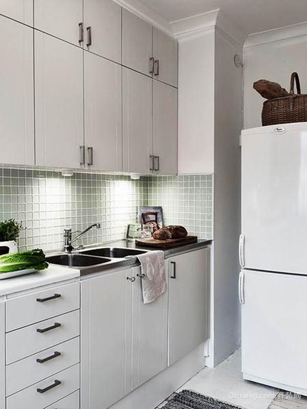 55平米自然简约风格单身公寓设计装修效果图赏析