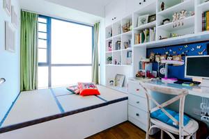 地中海风格榻榻米卧室装修效果图赏析