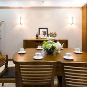 东南亚风格大户型精致餐厅设计装修效果图欣赏