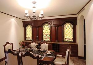 复古风格别墅室内精致餐厅设计装修效果图赏析